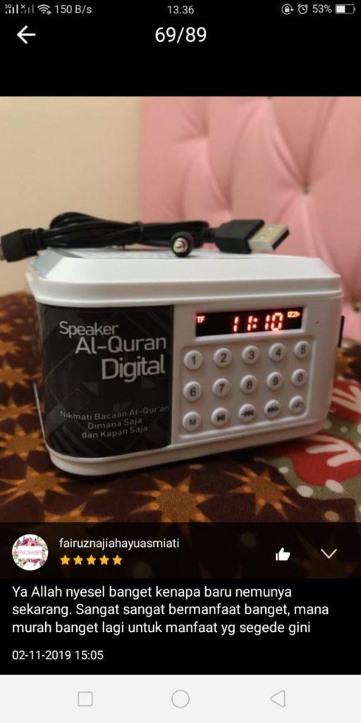 speaker Al quran tahfidz 2